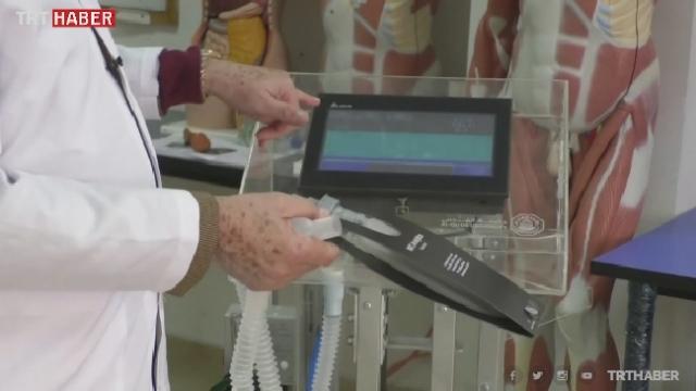 Filistinli araştırmacılar solunum cihazı üretti