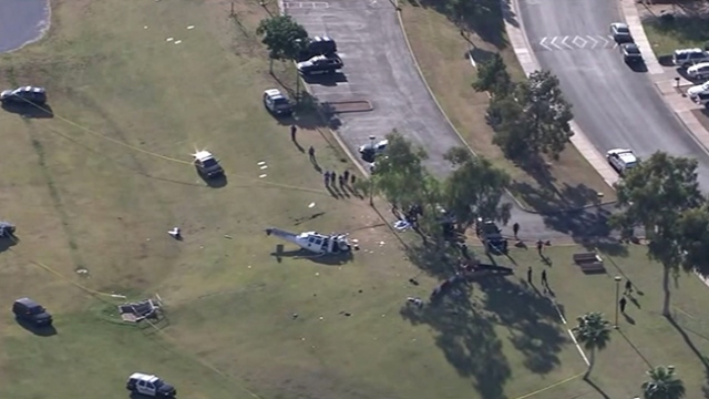 ABD'de helikopter düştü: 1 ölü, 1 yaralı