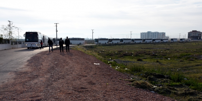 Fastan getirilen 277 Türk vatandaşı Aksaraydaki yurda yerleştirildi