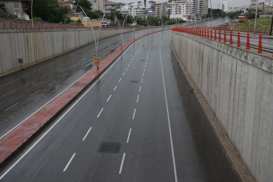 Gaziantep, Şanlıurfa, Malatya ve Kahramanmaraşta sokaklar boş kaldı