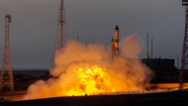 Soyuz roketi Uluslararası Uzay İstasyonu'na fırlatıldı