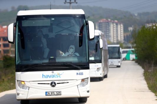 ABDden getirilen 225 Türk vatandaşı Düzcede yurda yerleştirildi