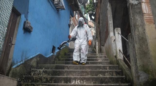 Brezilyada son 24 saatte COVID-19 nedeniyle 189 kişi öldü