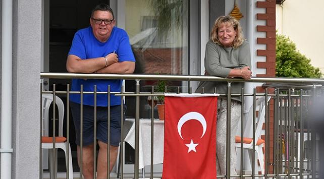 Marmariste yaşayan İngilizlerden Türkiyeye teşekkür