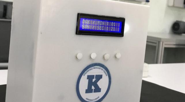 Öğretmenlerden hava dezenfekte cihazı ve temassız termometre