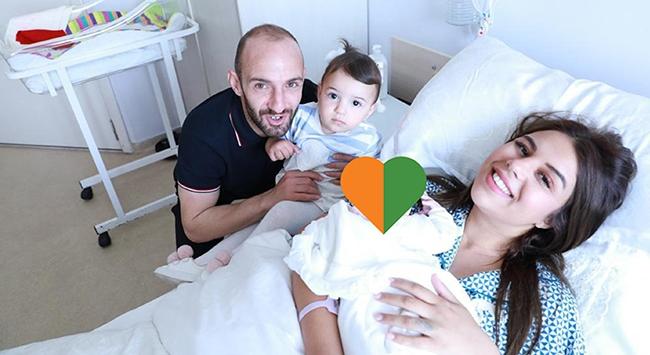 Milli futbolcu Efecan Karaca ikinci kez baba oldu