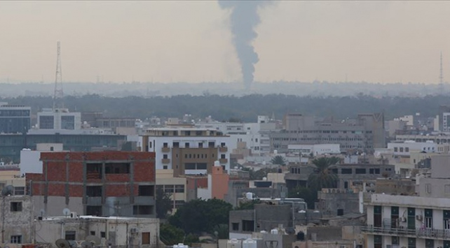 Hafter milisleri Msallata kentine 65i aşkın roket fırlattı
