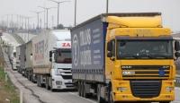 Yasak kalktı nakliyeciler rotayı Avrupa'ya çevirdi