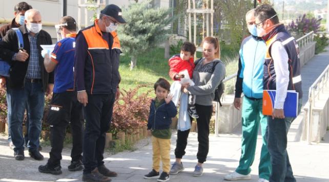 Kayseride 248 kişi karantinadan çıktı