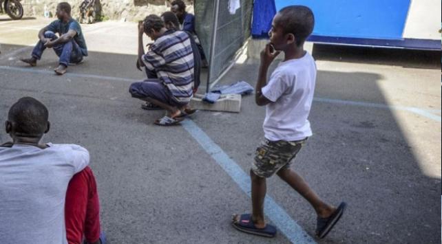 ABye 14 bin refakatsiz çocuk iltica başvurusunda bulundu