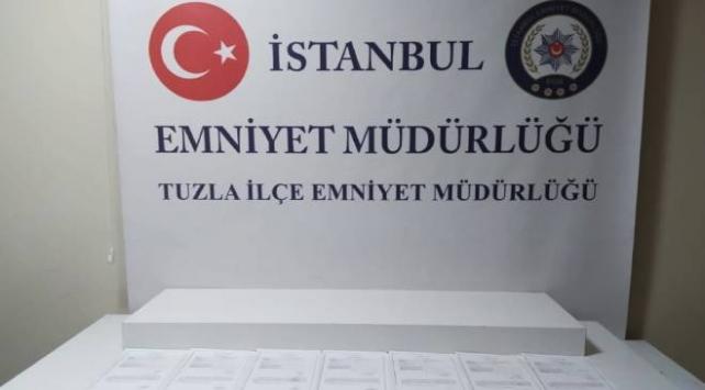 Sahte izin belgesiyle seyahat eden 10 kişi yakalandı