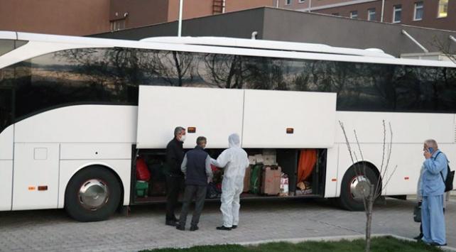 Çorumda karantinadaki 314 kişi evlerine gönderildi
