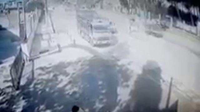 Afrin'deki bombalı saldırının yeni görüntüleri ortaya çıktı