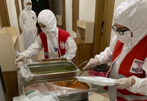 Rusyadan Kastamonuya getirilen Türk vatandaşlarına ramazan hizmeti