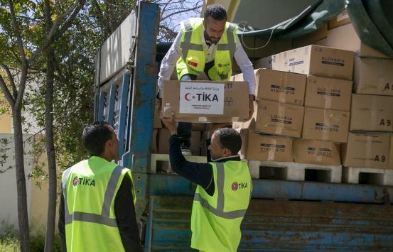 TİKAdan Tunusta 700 aileye ramazan yardımı