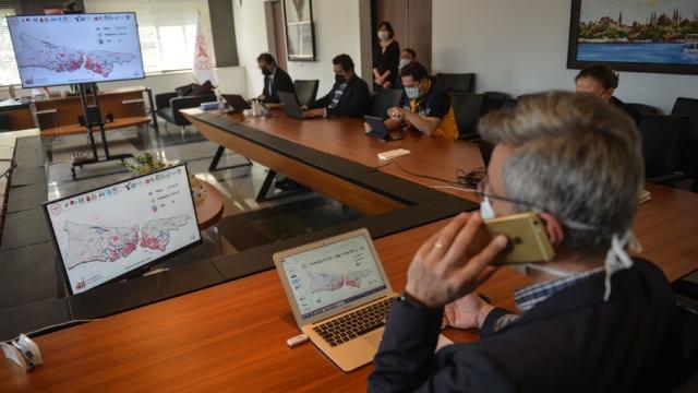 İstanbul'da Pandemi Koordinasyon Merkezi 7/24 çalışıyor