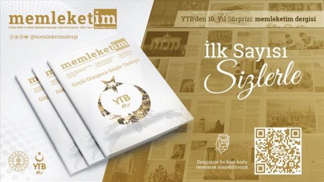 YTB'nin 10. yılında 'Memleketim' dergisi yayın hayatına başladı