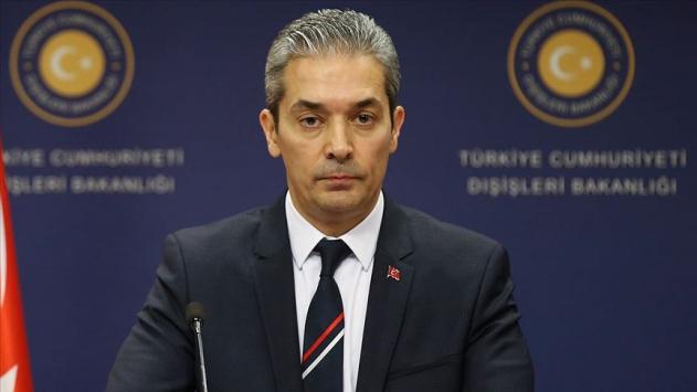 Dışişleri Bakanlığından, Mısırın Türkiyeyi hedef alan açıklamalarına tepki