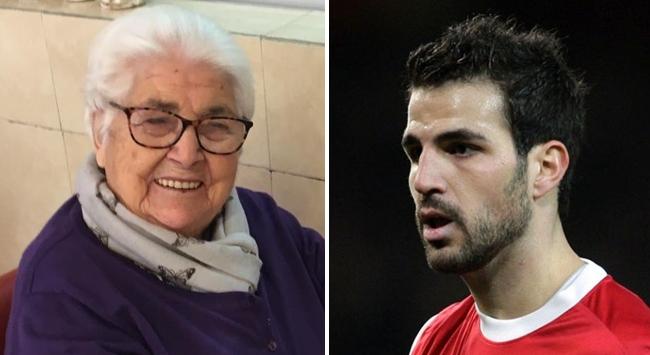 Fabregasın 95 yaşındaki büyük büyükannesi koronavirüsü yendi