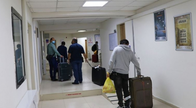 Yurtlarda karantinaya alınanlardan 34 bini tahliye edildi