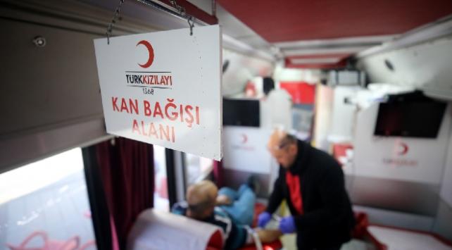 Kızılaydan vatandaşlara kan bağışı çağrısı