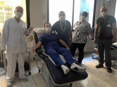 """TÜ Hastanesinde gönüllü """"immün plazma"""" bağış havuzu oluşturuldu"""