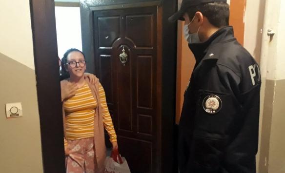 Ümraniyede polis ekiplerinden otizmli Meleke sürpriz