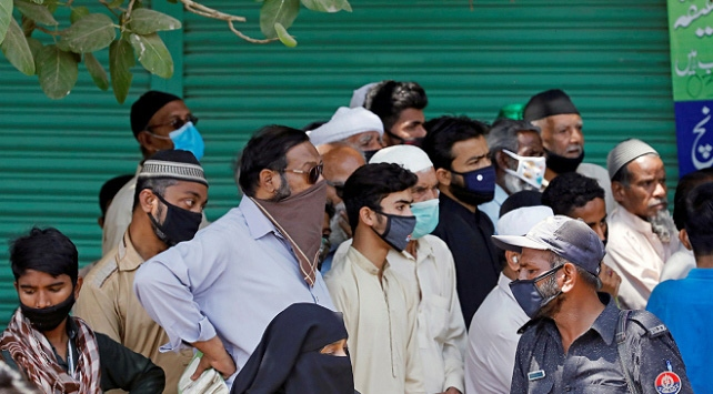 Pakistanda COVID-19 vaka sayısı 16 bini geçti