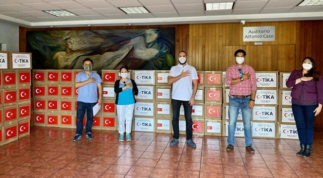 TİKAdan Meksikadaki ihtiyaç sahiplerine hijyen ve gıda desteği