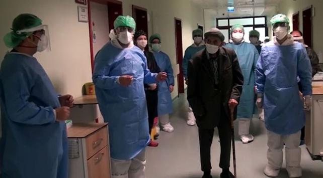 Kahramanmaraşta 101 yaşındaki hasta COVID-19u 10 günde yendi