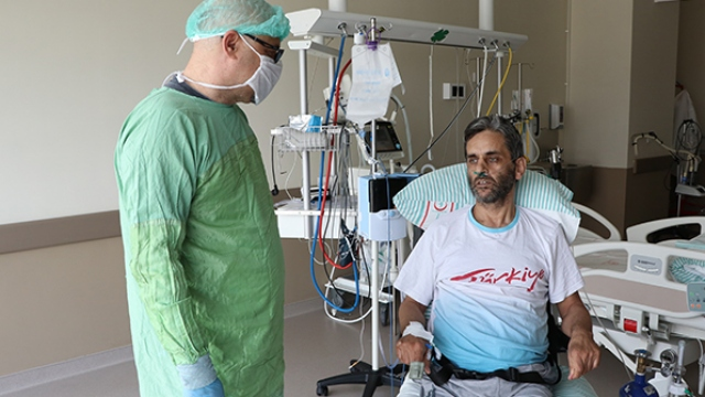 Plazma bağışıyla hastasına umut oldu