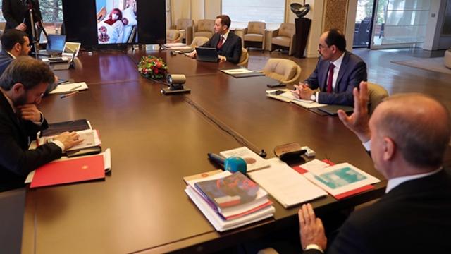 Cumhurbaşkanı Erdoğan Cerrahpaşa'daki hastalarla görüştü