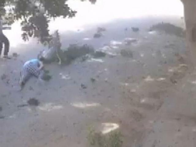 Hafterin sivilleri öldürdüğü saldırılar güvenlik kameralarınca kaydedildi