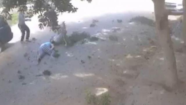 Hafter'in sivilleri öldürdüğü saldırılar güvenlik kameralarınca kaydedildi