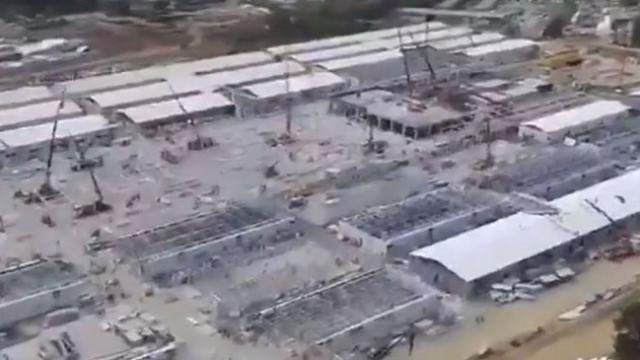 Salgın hastanelerinin yapımında 25 gün geride kaldı