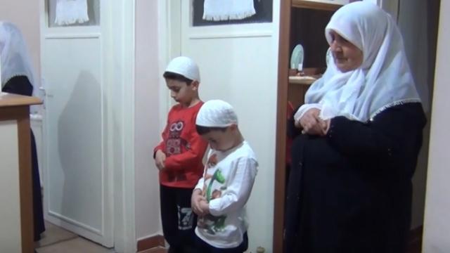 Kırıkkale'de teravih namazına hoparlör ile çözüm