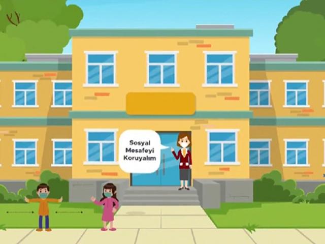 MEBden öğrencilere LGS önlemlerine ilişkin animasyon filmi