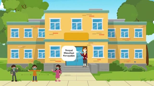 MEB'den öğrencilere LGS önlemlerine ilişkin animasyon filmi