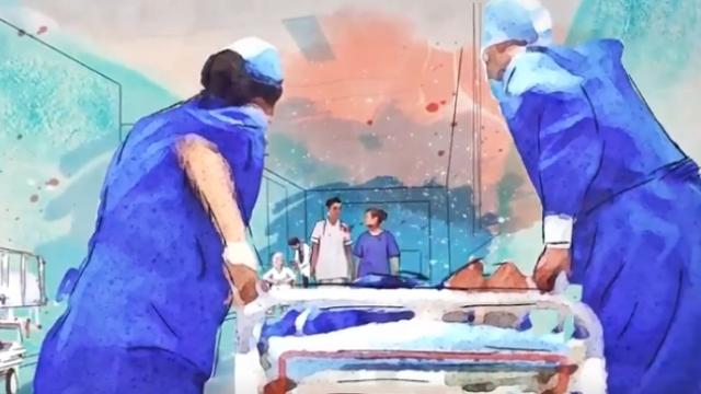 Sağlık çalışanları için hazırlanan şarkıya Bakan Koca'dan teşekkür