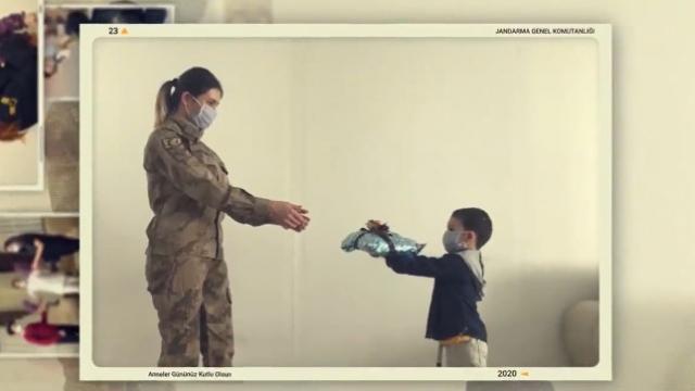 'Jandarma anneler' için özel klip