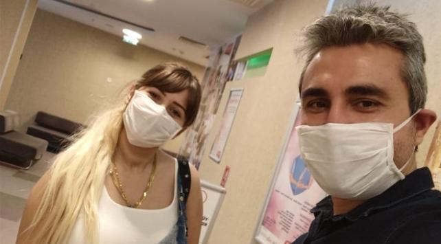 Sağlıkçı çiftin koronavirüs ayrılığı doğumdan önce sona erdi