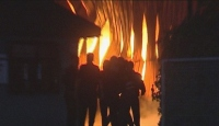 Ankara'daki Yangın 4 Saatlik Çalışma Sonunda Söndürüldü