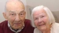 Evliliklerinin 78. Yılını Kutladılar