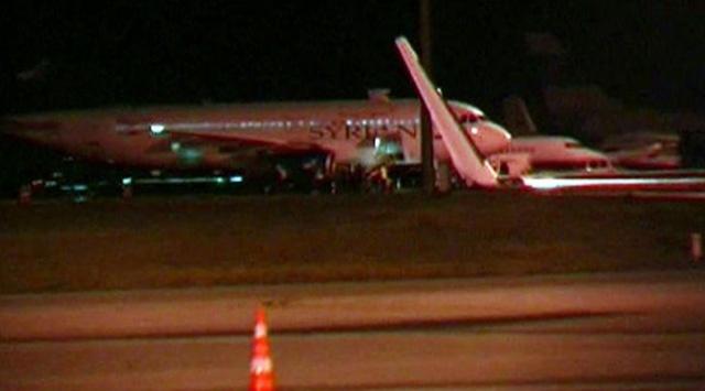 Suriye Uçağı Esenboğadan Ayrıldı