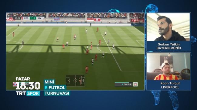 E-Futbol heyecanı TRT SPOR'da devam ediyor
