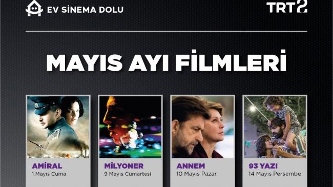 TRT 2'den Mayıs ayı sinema şöleni