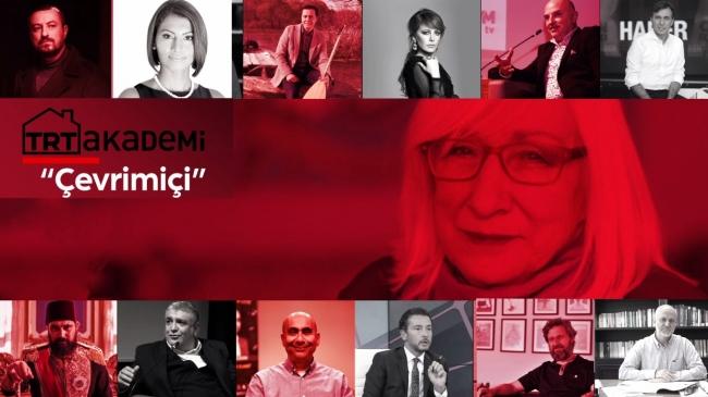 TRT Akademi Söyleşileri 'çevrimiçi' oluyor