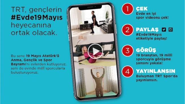 Videonu çek, sosyal medyada paylaş, 19 Mayıs'ta ünlü sporcularla buluşma şansını yakala
