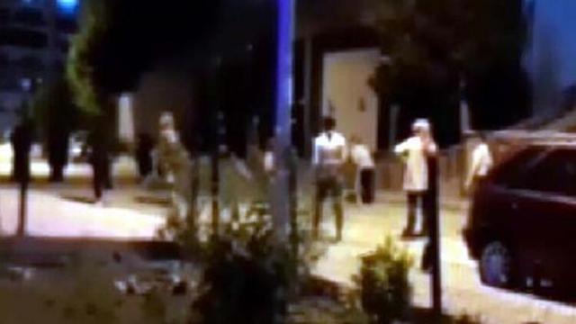 """""""Yakan top"""" oynayan gençler, polisi görünce evlerine kaçtı"""