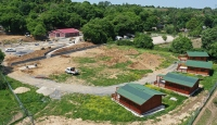 """""""Bağımsızlık Köyü""""nün inşaatında son aşamaya gelindi"""